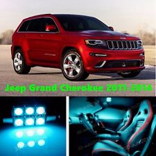16pcs LED ICE Blue Light Interior Package Kit for Jeep Grand Cherokee 2011-2014