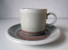 ARABIA OF FINLAND, Vintage, Tupa Coffee Cup & Saucer, Excellent