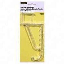 Stanley 75-2023 Plastic Clear Over The Door Clothes Hanger 6461511
