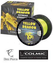 Filo da Traina - COLMIC YELLOW DRAGON 600mt - 0.40 - 20 LBS