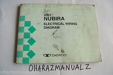 2001 DAEWOO NUBIRA Wiring Diagrams Manual