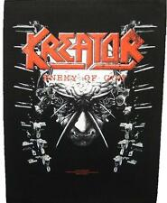 "Kreator schiena ricamate/Back Patch # 3 ""Enemy of God"""
