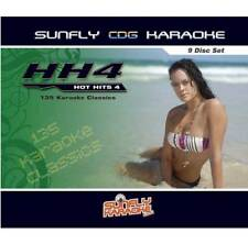 Sunfly Karaoke Hot Hits 4 - 9 Disc Pack (CD+G) Direct From Sunfly
