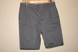 "VANS Mens 34"" Waist gray chino shorts Combine ship Discount"