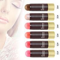Highlighter Stick Shimmer Powder Cream Long Lasting Blush Makeup Blusher New MT