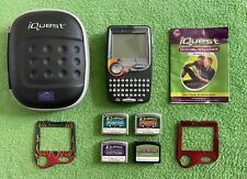 Leapfrog Quantum Leap Iquest Handheld W/ Case And 4 Cartridges Bundle & Gift!