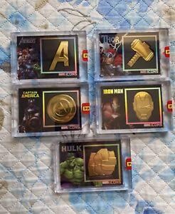Marvel Icons Black Gold 1-5