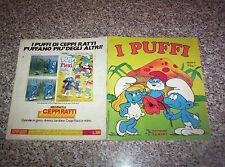 ALBUM I PUFFI PANINI 1983 COMPLETO MOLTO BUONO/OTTIMO NO CALCIATORI