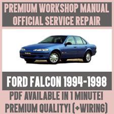 * Manuale Officina Assistenza e Riparazione Guida Per Ford Falcon 1994-1998 + Cablaggio
