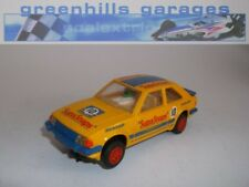 Greenhills Scalextric Ford Escort XR3i SupaSnaps No 10 C446 - Used - 20376