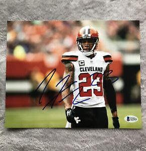 Joe Haden Autographed Signed Browns 8x10 Photo NFL Steelers BAS Beckett COA