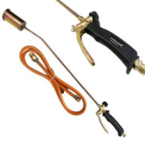 Propane Gas Torch Burner 2m Hose Plumber Weed Kit Regulator not inc PB057