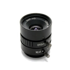 Camera Lens 3Mega Pixels Focal Length 12mm F1.4 C Mount FOV 25° Format 1/2""