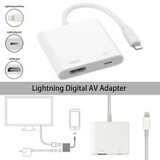 Lightning 8 Pin to HDMI HDTV Digital TV Adapter for iPhone 8 7 6 Plus 6S 5S iPad