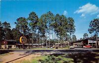 Pearson Georgia 1950s Postcard Corral Motel