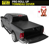 """Fits 2009-2018 DODGE RAM 1500 Lock Roll Up Soft Tonneau Cover 5.7ft (68.4"""") Bed"""