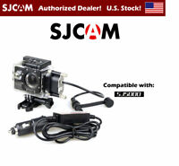 SJCAM OEM Waterproof Case & Car Charger for SJ5000 Series - Camera Not Included