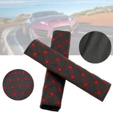 1Pair PU Car Safety Seat Belt Shoulder Pads Cover Cushion Harness Pad Protector