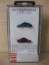 Busch - ref.8346 - Audi A4 azul y Mercedes Clase C granate