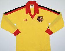 1978-1982 WATFORD UMBRO HOME FOOTBALL SHIRT (SIZE Y)