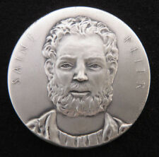 Medallic Arts Co. NY- Saint Peter 34.7 g. 999 Silver Medal