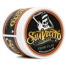 Authentic SUAVECITO 4 Oz Firme Clay Pomade Free Comb NEW