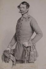 Franz Ritter von Hauslab General Kartograf Orden Uniform Wien Ungarn Kriehuber