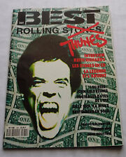 BEST No.264(Juil 1990) ROLLING STONES(17 pages)- INDUS- PRETENDERS-L.REED/J.CALE