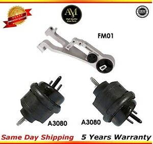 Engine Mount For Ford Five Hundred Freestyle, Mercury Montego Front Left  Set 3