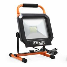 Tacklife 5000LM 50W LED Heat Dissipation Worklight Job Lighting Flood Light