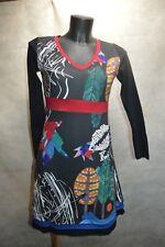 ROBE TUNIQUE  101 IDEES  TAILLE S/36 DRESS/KLEID/ABITO/VESTIDO TBE