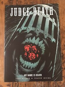 Judge Death my name is death 2000ad  very fine / Near Mint.