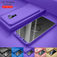 Case for Samsung Galaxy S10 S9 S8 Plus Cover 360 Luxury Thin Shockproof Hybrid