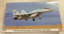 Hasegawa 1/72  Mikoyan-29 Fulcrum Ukanian Air Force Model Kit 2118