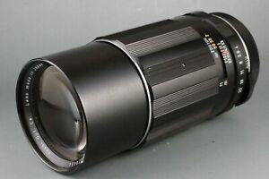 Asahi Opt Super Takumar 200mm f/4 M42 Pentax m42 Manual #148