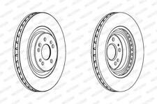 2X Discos de frenos delanteros FERODO Mercedes-Benz ML W163