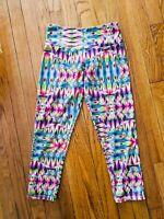 Onzie Crop Legging Pant in Tutti Fruitti Yoga Activewear Size Women's XS NWOT