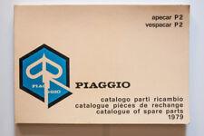 Spare Parts Catalog piaggio apecar P 2 vespacar P 2