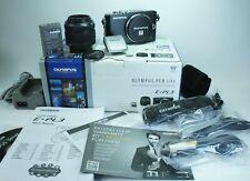Olympus PEN E-PL3 12.3 MP Digital Camera - Black (Kit w/ 14-42mm Lens)