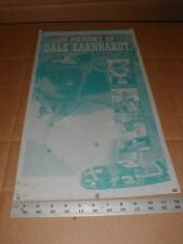 In Memory of Dale Earnhardt Sr 2001 Newspaper Metal Printing Plate Goodwrench