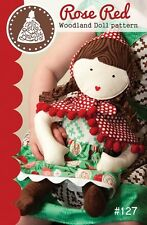 New Rose Red Woodland Doll Pattern Lella Boutique