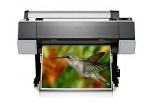 Epson Stylus Pro 9890 Large Format Inkjet Printer (requires attention)