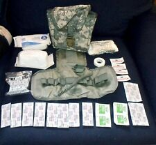 Full Set Army Military Surplus ACU IFAK Kit Molle II Individual First Aid Pouch