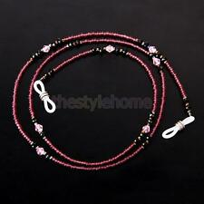 1pc Beaded Glasses Spectacles Holder Cord String Neck Strap Chain Lanyard