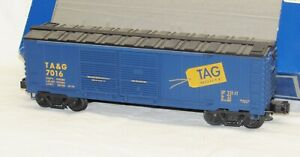 Industrial Rail IDM 1103 Tag Route Double Door Boxcar #7016 O Gauge