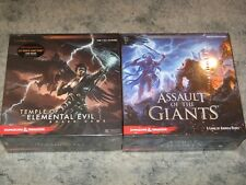 boardgame lot NEW SW Assault of the Giants/Temple of Elemental Evil D&D rpg