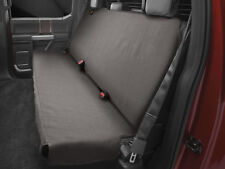 WeatherTech Small Highback Bench Seat Protector in Cocoa for Trucks Cars SUVs