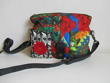 DESIGUAL AMAZONAS COLORFUL FUN FLORAL FABRIC CLUTCH CROSSBODY SOLD OUT! HANDBAG