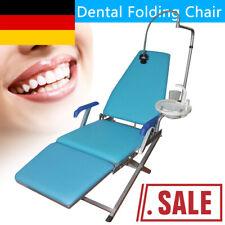 Behandlungseinheit Zahnarztstuhl Behandlungsstuhl Dental Folding Chair LED Light