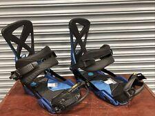 2019 Nitro Phantom Snowboard Bindings Blue, Used
